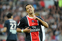 FOOTBALL - FRENCH CHAMPIONSHIP 2011/2012 - L1 - PARIS SAINT GERMAIN v DIJON FCO  - 23/10/2011 - PHOTO JEAN MARIE HERVIO / DPPI - NENE (PSG)