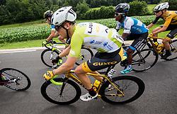 Benjamin Hill of Ljubljana Gusto Xaurum during 3rd Stage of 25th Tour de Slovenie 2018 cycling race between Slovenske Konjice and Celje (175,7 km), on June 15, 2018 in  Slovenia. Photo by Vid Ponikvar / Sportida