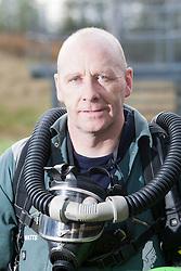 Kevin Watts. Mine Rescue Service at Crossgates Training Centre, Crossgates, Fife..Pic © Michael Schofield.