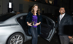© London News Pictures. 30/01/2014. London. UK. Liz Hurley arrives at the Launch of Amanda Wakeley Flagship Store in London.  Photo credit: See Li/LNP