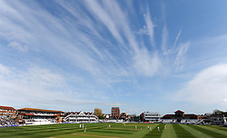 General view of the County Ground- Photo mandatory by-line: Harry Trump/JMP - Mobile: 07966 386802 - 12/04/15 - SPORT - CRICKET - LVCC County Championship - Day 1 - Somerset v Durham - The County Ground, Taunton, England.