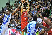 DESCRIZIONE : Campionato 2013/14 Dinamo Banco di Sardegna Sassari - Grissin Bon Reggio Emilia<br /> GIOCATORE : Ojars Silins<br /> CATEGORIA : Tiro Tre Punti<br /> SQUADRA : Grissin Bon Reggio Emilia<br /> EVENTO : LegaBasket Serie A Beko 2013/2014<br /> GARA : Dinamo Banco di Sardegna Sassari - Grissin Bon Reggio Emilia<br /> DATA : 08/12/2013<br /> SPORT : Pallacanestro <br /> AUTORE : Agenzia Ciamillo-Castoria / Luigi Canu<br /> Galleria : LegaBasket Serie A Beko 2013/2014<br /> Fotonotizia : Campionato 2013/14 Dinamo Banco di Sardegna Sassari - Grissin Bon Reggio Emilia<br /> Predefinita :
