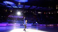 Ishockey Hokey<br /> GET - ligaen<br /> Jordal Amfi 29.12.12<br /> Vålerenga VIF - Storhamar<br /> Kick-off til jubileumssesongen 2013 med Vålerenga Idrettsforening<br /> Alex Rosèn underholder<br /> Foto: Eirik Førde