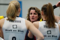 20190131 NED: Semi Final Cup Sliedrecht Sport - Eurosped, Sliedrecht <br />Vera Koenen, headcoach of Sliedrecht Sport <br />©2019-FotoHoogendoorn.nl / Pim Waslander
