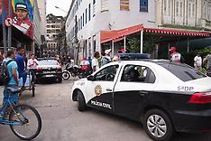 Rio Di Janeiro: Police Operation Combat Drug Trafficking in Tourist Spot, 18 Nov. 2016