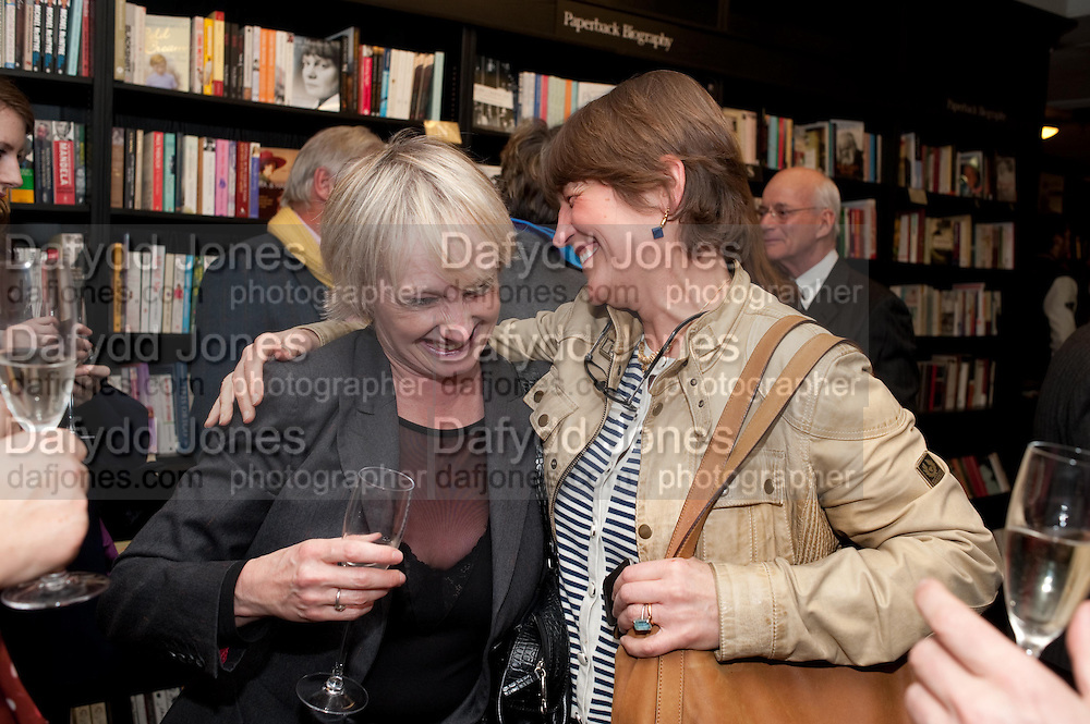 LESLIE WALTERS; CAROLINE WALDEGRAVE, Relish: My Life on a Plate by Prue Leith. Hatchards. Piccadilly, London. 14 March 2012.