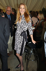 Model JERRY HALL at 'Horticouture' a charity fashion show to raise funds for Tommy's, the baby charity and The Royal Botanic Gardens, Kew held at Kew on 12th May 2005.<br /><br />NON EXCLUSIVE - WORLD RIGHTS