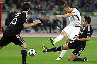 Edin Dzeko Roma <br /> Baku 27-09-2017 Football Champions League 2017/2018 Group C Qarabag - AS Roma Foto Gino Mancini/Insidefoto