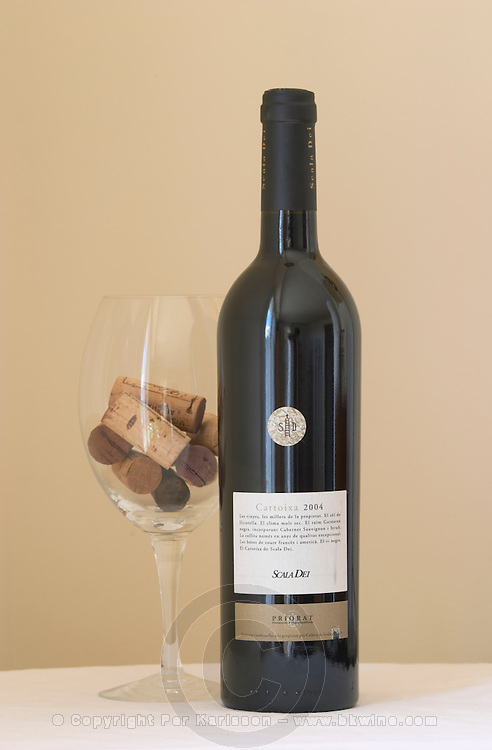 Cartoixa 2004, Scala Dei. Grenache, cabernet sauvignon, syrah. Priorato, Catalonia, Spain.