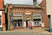 Bank converted into shop, Halesworth, Suffolk, England, UK