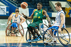 January 8, 2007 - Toronto, Ontario, Canada - Players on the field during the basketball game - South Africa vs France  during 2017 Men's U23 World Wheelchair Basketball Championship which takes place in Ryerson's Mattamy Athletic Centre, Toronto, ON, on June 08 -16, 2017  (Credit Image: © Anatoliy Cherkasov/NurPhoto via ZUMA Press)