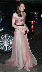 The Duchess of Cambridge attends the 100 Women in Finance Gala Dinner, in aid of Mentally Healthy Schools, at the V&A Museum, London, UK, on the 13th February 2019. Picture by Chris Jackson/WPA-Pool. 13 Feb 2019 Pictured: Catherine, Duchess of Cambridge, Kate Middleton. Photo credit: MEGA TheMegaAgency.com +1 888 505 6342