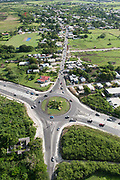 Roundabout on the ABC Highway, Barbados