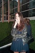 , Vogue: Fashion's Night Out: Armani. Bond st.  London. 8 September 2010.  -DO NOT ARCHIVE-© Copyright Photograph by Dafydd Jones. 248 Clapham Rd. London SW9 0PZ. Tel 0207 820 0771. www.dafjones.com.
