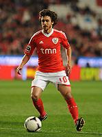 20120316: LISBON, PORTUGAL - Liga Zon Sagres 2011/2012: SL Benfica vs Beira-Mar. In picture: Pablo Aimar. PHOTO: Alvaro Isidoro/CITYFILES