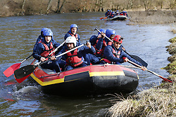 March 14, 2018 - Rendeux, Belgique - Kenny Saief forward of RSC Anderlecht and Andy Najar midfielder of RSC Anderlecht - illustration rafting  pictured during the team building of Rsc Anderlecht in Rendeux , Belgium. ***RENDEUX, BELGIUM - March 14, 2018 EXCLUSIF (Credit Image: © Panoramic via ZUMA Press)