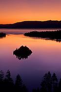 Emerald Bay at sunrise, Lake Tahoe, California
