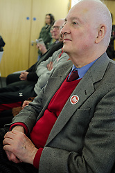 20-02-16. Cardiff, Wales,  UK. Launch Rally of YesCymru :a new cross-party grass-roots movement advocating an Independent Wales. The meeting had 100 activists from allover the Principality and a variety of differing party political views. Speaking were Iestyn ap Rhobert (Spokesperson), Shona McAlpine from the Scottish Yes campaign, John Dixon former OPlaid Cymru Spokesperson and author, Liz Castro from the Assemblea Nacional Catalana (Catalonia) and music from Caryl Parry Jones and Sion Jobbins outlining a new acticvist book based on the Wee Blue Book in Scotland.  More Info: Iestyn ap Rhobert: ietynap@hotmail.com post@yescymru.org 07817024319  http://yes.cymru  @yescymru  Picture credit: Ian Homer/LNP