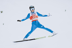 04.03.2021, Oberstdorf, GER, FIS Weltmeisterschaften Ski Nordisch, Oberstdorf 2021, Herren, Nordische Kombination, Einzelbewerb, Skisprung HS 137, im Bild Akito Watabe (JPN) // Akito Watabe of Japan during a trainings session for the ski Jumping HS 137 Competition of men Nordic combined Single of FIS Nordic Ski World Championships 2021 in Oberstdorf, Germany on 2021/03/04. EXPA Pictures © 2021, PhotoCredit: EXPA/ JFK
