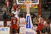 DESCRIZIONE : Pistoia Lega serie A 2013/14 Giorgio Tesi Group Pistoia Victoria Libertas Pesaro<br /> GIOCATORE : daniel edward<br /> CATEGORIA : controcampo schiacciata<br /> SQUADRA : Giorgio Tesi Group Pistoia<br /> EVENTO : Campionato Lega Serie A 2013-2014<br /> GARA : Giorgio Tesi Group Pistoia Victoria Libertas Pesaro<br /> DATA : 24/11/2013<br /> SPORT : Pallacanestro<br /> AUTORE : Agenzia Ciamillo-Castoria/GiulioCiamillo<br /> Galleria : Lega Seria A 2013-2014<br /> Fotonotizia : Pistoia Lega serie A 2013/14 Giorgio Tesi Group Pistoia Victoria Libertas Pesaro<br /> Predefinita :