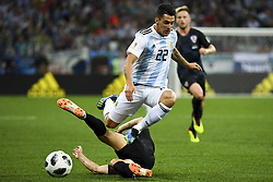 June 21, 2018 - Nizhny Novogorod, Russia - Cristian Pavon of Argentina in action during the FIFA World Cup Group D match between Argentina and Croatia at Nizhny Novogorod Stadium in Nizhny Novogorod, Russia on June 21, 2018  (Credit Image: © Andrew Surma/NurPhoto via ZUMA Press)
