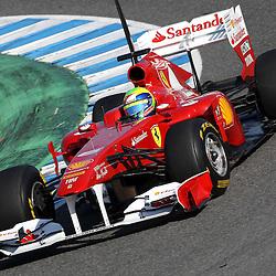 20110211: ESP, Formula 1 - Test at Jerez