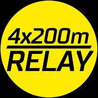 4x200m Heats Men
