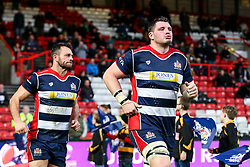 James Phillips of Bristol Rugby runs out for the second half - Rogan Thomson/JMP - 11/12/2016 - RUGBY UNION - Ashton Gate Stadium - Bristol, England - Bristol Rugby v Pau - European Rugby Challenge Cup.