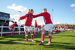 Bristol City Women warm-up - Mandatory by-line: Paul Knight/JMP - 28/10/2018 - FOOTBALL - Stoke Gifford Stadium - Bristol, England - Bristol City Women v Arsenal Women - FA Women's Super League
