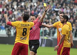 November 5, 2017 - Turin, Italy - Danilo Cataldi during Serie A match between Juventus v Benevento, in Turin, on november 5, 2017  (Credit Image: © Loris Roselli/NurPhoto via ZUMA Press)