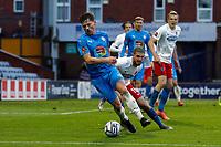 James Jennings. Stockport County FC 1-1 Dagenham & Redbridge. Vanarama National League. Edgeley Park. 11.5.21