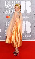 February 21, 2019 - London, London, United Kingdom - Image licensed to i-Images Picture Agency. 20/02/2019. London, United Kingdom. Paloma Faith at the Brit Awards in London. (Credit Image: © i-Images via ZUMA Press)