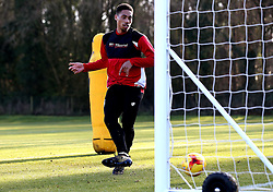 Zak Vyner of Bristol Citytakes part in training - Mandatory by-line: Robbie Stephenson/JMP - 19/01/2017 - FOOTBALL - Bristol City Training Ground - Bristol, England - Bristol City Training