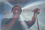 Jacob Banks plays BBC Music stage - The 2018 Latitude Festival, Henham Park. Suffolk 14 July 2018