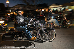 Biking on the Boulevard event during Daytona Bike Week. FL, USA. March 13, 2014.  Photography ©2014 Michael Lichter.