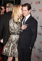 April 23, 2013 - New York, New York, U.S. - Actors CLAIRE DANES  and HUGH DANCY attend the 2013 Time 100 Gala held at the Time Warner Center. (Credit Image: © Nancy Kaszerman/ZUMAPRESS.com)