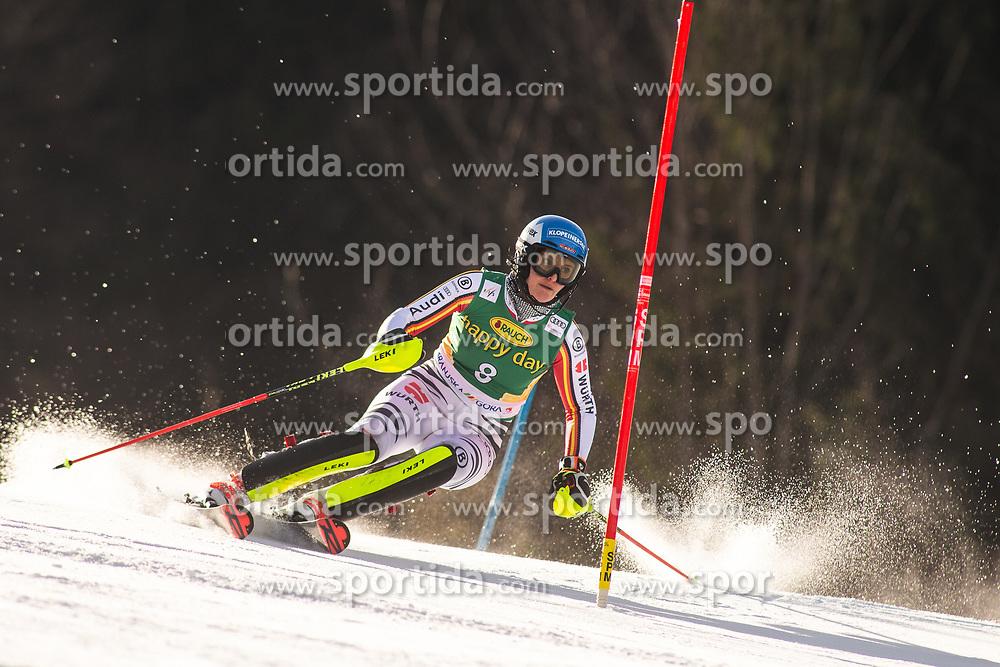 Christina Ackermann (GER) during the Ladies' Slalom at 56th Golden Fox event at Audi FIS Ski World Cup 2019/20, on February 16, 2020 in Podkoren, Kranjska Gora, Slovenia. Photo by Matic Ritonja / Sportida