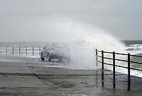 Storm Darcy hits Margate, UK 8th feb 2021 photo by Krisztian Kobold Elek