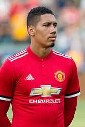July 15, 2017 - Carson, California, U.S - Manchester United D Chris Smalling (12) during the summer friendly between Manchester United and the Los Angeles Galaxy at the StubHub Center. (Credit Image: © Brandon Parry via ZUMA Wire)