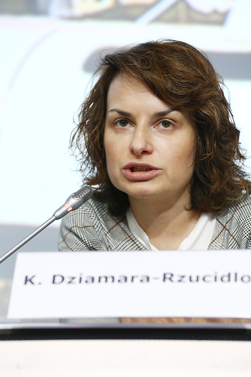20150226 - Brussels - Belgium - 26 February 2015 -  Heating and cooling in the European energy  transition conference - Boosting new finance for energy efficiency investments - Katarzyna Dzamara-Rzucidlo , Advisor , Polish National Fund for Water and Environmental Protection © EC/CE - Patrick Mascart