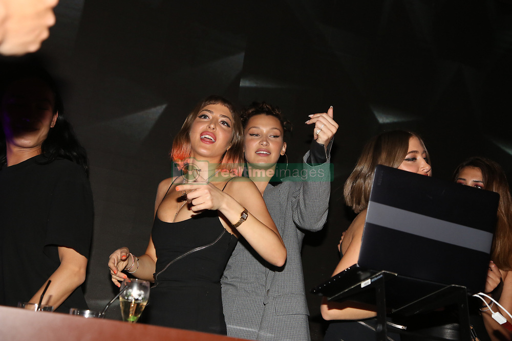 Bella Hadid and Simi & Haze attending the Magnum Double Party at Plage Magnum during The 71th Annual Cannes Film Festival on May 10, 2018 in Cannes, France. Photo by Jerome Domine/ABACAPRESS.COM