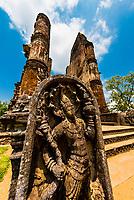 Lankatilaka Vihara, Ruins of ancient city, Polonnaruwa, Sri Lanka.