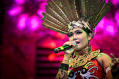 Dayak Dance Performance, Kalimantan