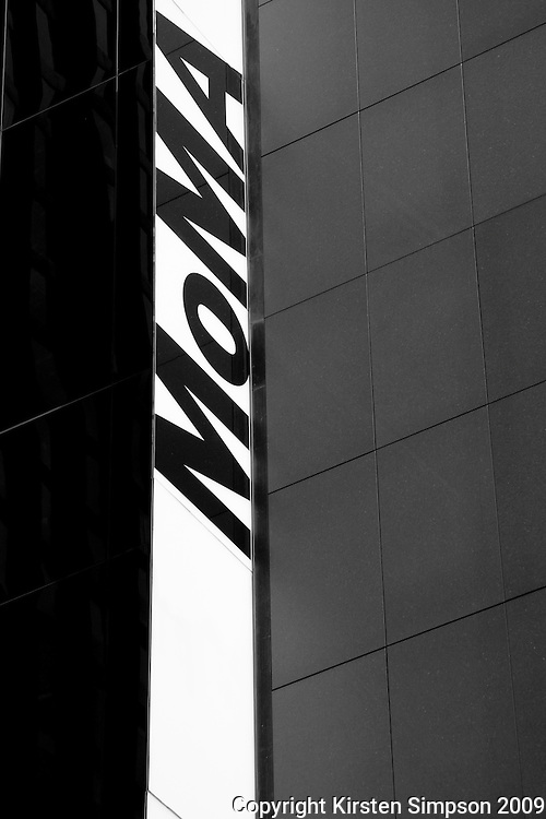 MoMA sign