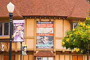 The Old Globe Theater in Balboa Park, San Diego, California