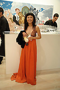 FAYE LEE, Korean Eye Dinner  hosted by The Dowager Viscountess Rothermere and Simon De Pury.Sponsored by CJ, Korean Food Globalization Team, Hino Consulting and Visit Korea Committee. Phillips de Pury Space, Saatchi Gallery.  Sloane Sq. London. 2 July 2009.