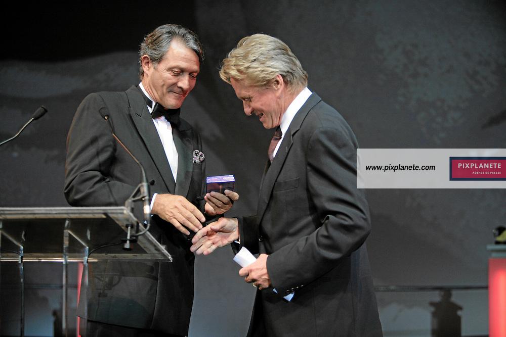Michael Douglas - Michael Douglas et Philippe Augier - 33 ème Festival du Cinéma Américain de Deauville - Soirée d'ouverture - 31/8/2007 - JSB / PixPlanete