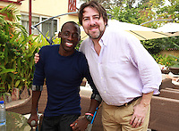Today marks the 25th annive. Jonathan Ross Meeting with Ghanaian Paralympic Athlete Alem in Accra, Ghana. Jonathan Ross is in Ghana with Comic Relief to mark the 25th anniversary of Red Nose Day. Thirteen Red Nose Days later it has raised over £600million and over the last 25 years that money will have helped 50 million people across Africa, the world's poorest countries and here in the UK. Keep up the good work. rednoseday.com ©Christian Thompson
