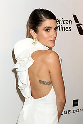 February 24, 2019 - West Hollywood, CA, USA - LOS ANGELES - FEB 24:  Nikki Reed at the Elton John Oscar Viewing Party on the West Hollywood Park on February 24, 2019 in West Hollywood, CA (Credit Image: © Kay Blake/ZUMA Wire)