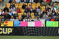 04 December 2011: Fans of Womens Professional Soccer display signs supporting the league. The Stanford University Cardinal defeated the Duke University Blue Devils 1-0 at KSU Soccer Stadium in Kennesaw, Georgia in the NCAA Division I Women's Soccer College Cup Final.